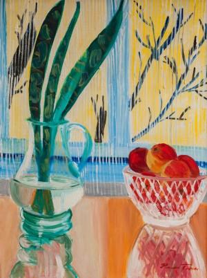 'Натюрморт з яблуками', 1984