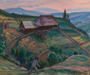 'Morning Dew', 1999, oil on canvas, 84x100