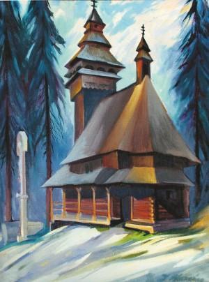 Манайло І. Церква, 1990, п.о., 85х65
