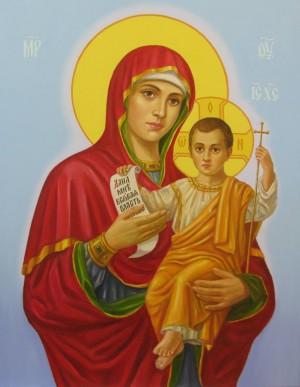 Спаситель і Богородиця п.о.90х70