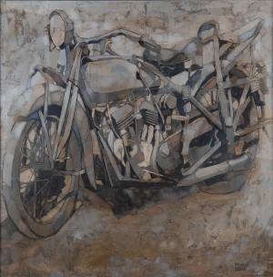Залізне ехо, 2011, 90х90