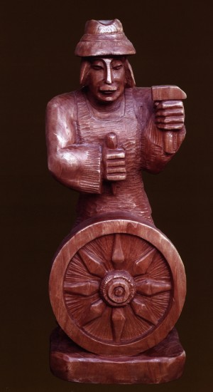 A Wheelwright, 1995
