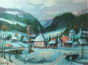 Село Пашковець, 2000, 60х80