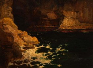 The Mediterranean Cliffs, 1906, oil on canvas, 76,5х103
