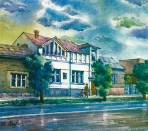 House in Novorosiisk Street,82