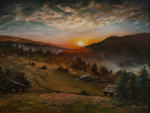 M. Berezanych 'Morning In The Mountains'