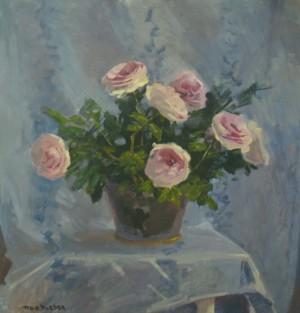 Королівські троянди, 2015, к.о., 61х63