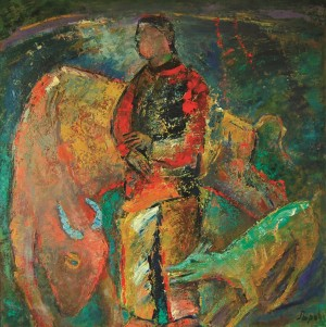 Year Of The Ox, 2009, oil on canvas, 90x90