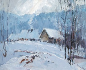 Frosty Evening, 2012, oil on canvas, 50х60