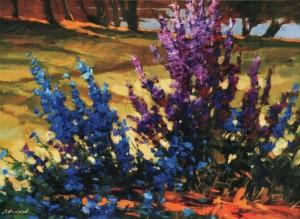 Польові квіти, 2010, 70х90