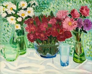'Натюрморт зі склянками', 1977