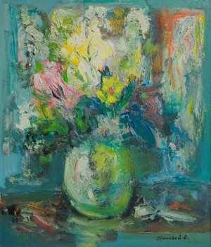 "O. Hromovyi ""Still Life"", 2013, oil on canvas"