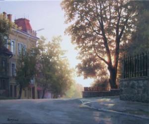 Varosh Where I live, oil on canvas, 50x60
