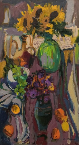 A. Kovach Still life with sunflowers, 2016
