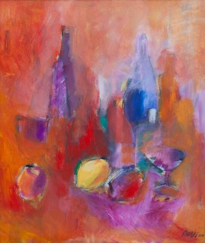 'Натюрморт в рожевому', 2010