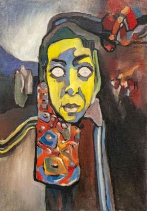 Portrait', 1980-1990
