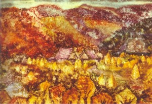 Autumn Fogs, 1987, fabriano, watercolour, 56х72