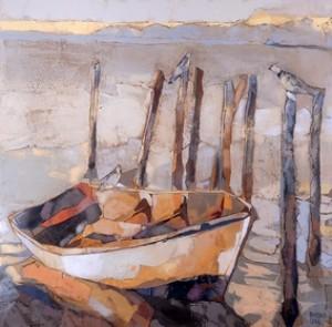 Forgotten Boat, 2011, 90x90