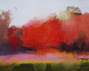 Autumn Touch2015oil on canvas20x25.