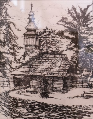 V. Andrianov. Shelestivsk Church