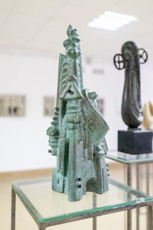 Корж Б. 'Вежа-ХХІ', 2015, гіпс