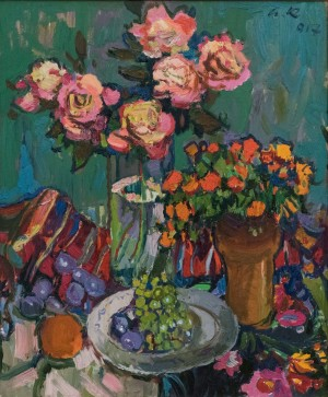 A. Kovach Still life with roses, 2016