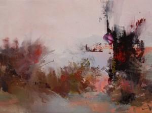 Autumn Road2015oil on canvas40x55.