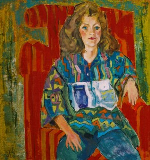 F. Seman, Portrait of Nadiia,1990