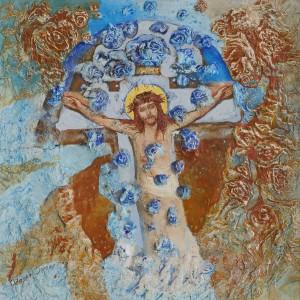 Долгош О. Із серії Закарпатські хрести, 2007, кар. акр.