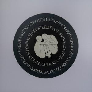 Лакатош А. Між рядків, Із серії «Ритуал» 2017, а.,35х35