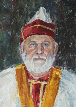 Рицар білої скатерті, п.о., 80х60