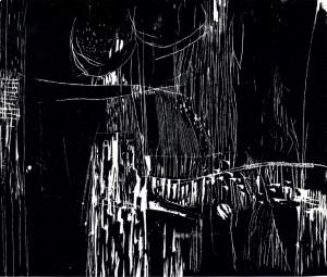DR-10, 1966, drevorez, 45,7X55,5