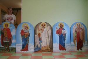 Ікони для оздоблення фасаду церкви