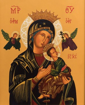 K. Toporkova, Icon of Our Lady, 2017