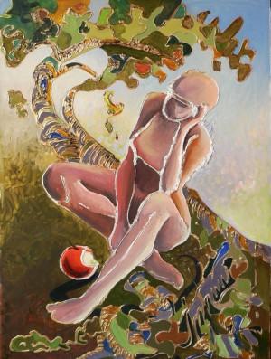 Evas thoughts, 2010, 70х50