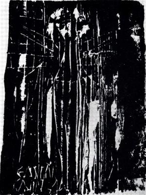 DRM-2, 1966, drevorez, 23X16,5