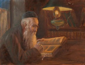 Learning The Torah, 1929