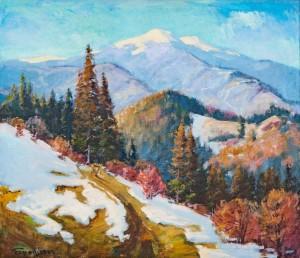 V. Brenzovych 'Liutianska Hostra Mountain', 2007