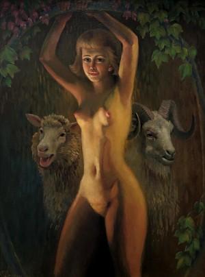 'Рік Кози', 2015, к.о., 60х45