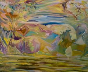 'Nymphs', 2016, 90х110