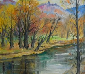 Осінь у Невицькому, 2010, п.о., 80х70