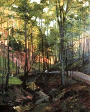 Сонячний день у лісі, 1992, 70х60