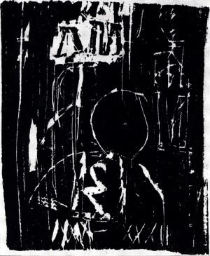 DRM-6, 1966, drevorez, 20X16