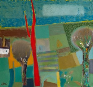 S. Biba 'Landscape 5'