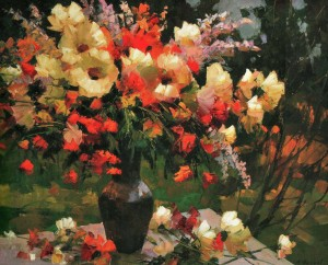 A Sunny Bouquet, 2009, 70x90