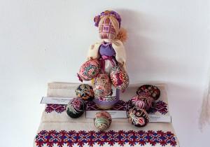 Гаврило М. Композиція 'Лялька-мотанка, писанки'