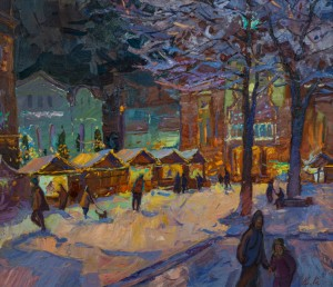 V. Kadar, Christmas lights