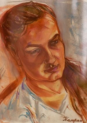 Y. Katran 'Sister's Portrait'