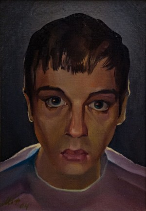 'My Grandson Locico', 2004, oil on canvas