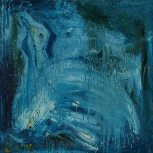 F. Seman, Blue bird, 1993